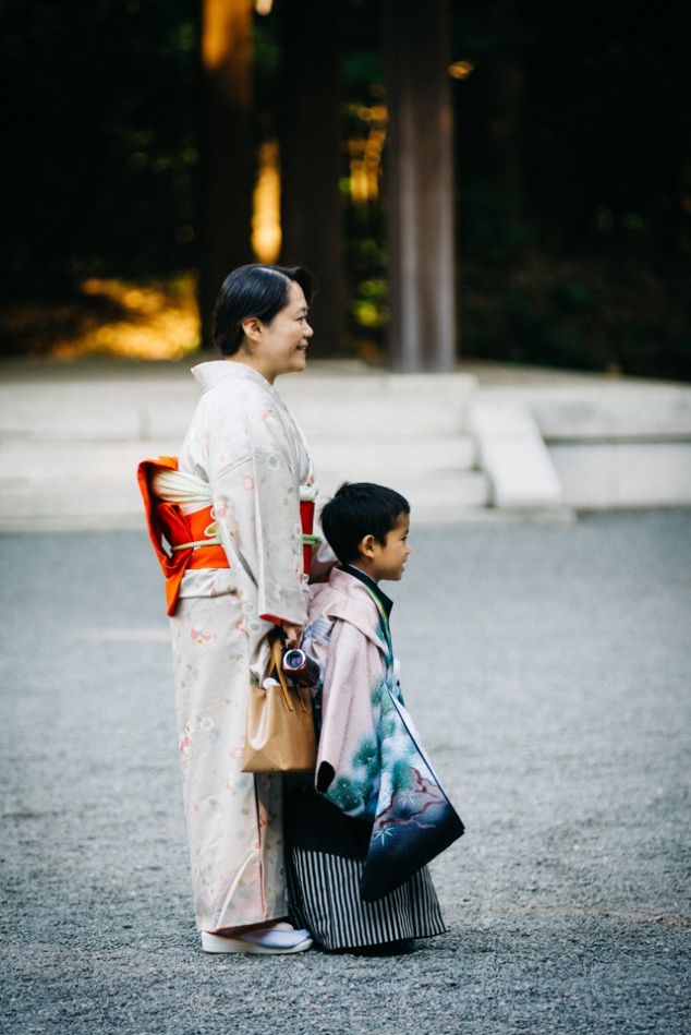 Shichigosan - Boy and his Grandmother